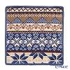 Feiler 'Baltic Blue' Smoky Blue Hand Towel 30x30cm