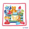 Feiler Baby 'Toybox' Pink Baby Handkerchief / Hand Towel 24.5x24.5cm