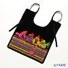Feiler baby bib Chicken chat 25 x 30 cm black