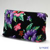 Feiler 'Poppies (Poppy Flower) Black' Travel Pouch 34x18.5cm