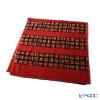 Feiler 'Derby' Red Bath Towel 75x150cm