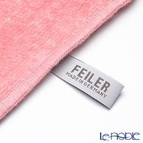 Feiler 'Vienna (Flower)' Rose Pink with Gold Thread Hand Towel 30x30cm