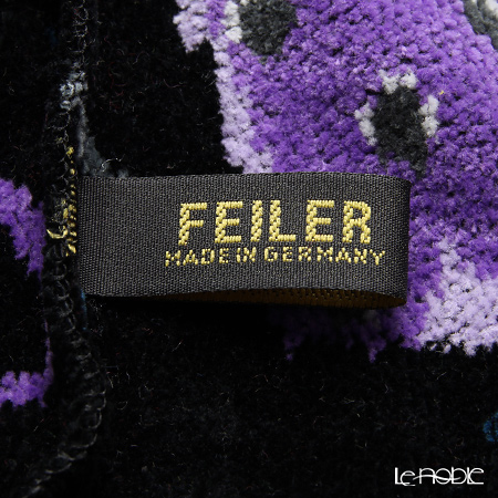 Feiler 'Crazy Bags' Black Turban 70.5x25cm