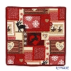 Feiler 'Winter Magic (Christmas)' Red Hand Towel 30x30cm