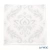 Feiler 'Bellevue' White Hand Towel 30x30cm