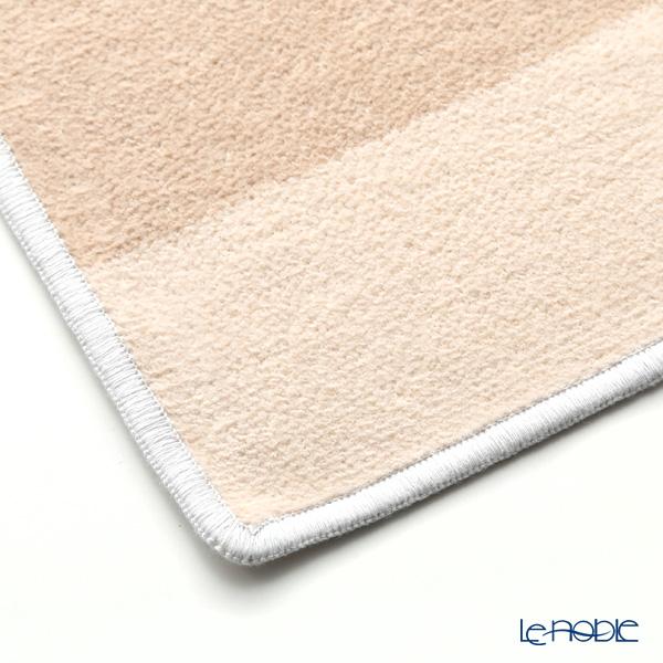 Feiler hand towel Blocks grey / beige 30 x 30 cm