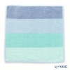 Feiler hand towel Blocks blue / green 30 x 30 cm