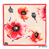 Feiler 'Corn Poppy (Flower)' Coral Orange Hand Towel 30x30cm