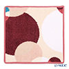 Feiler 'Circle' Cherry Pink Hand Towel 30x30cm