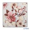 Feiler 'Lenz Rose / Christmas Rose' Platin Grey Christmas Rose Platinum Grey 30x30cm Christmas