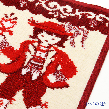 Feiler 'Trachten' Red Hand Towel 25x25cm