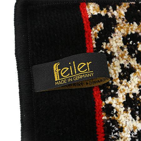 Feiler 'Safari' Black Hand Towel 25x25cm