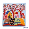 Feiler towel cottage Blue 25 x 25 cm