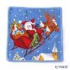 Feiler towel Santa Blue 25 x 25 cm