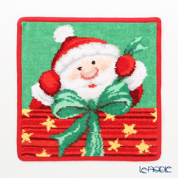 フェイラー ハンドタオル クリスマス サンタ レッド 25×25cm