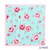 Feiler 'Mon Petit (Flower)' Aqua Blue & Candy Pink Hand Towel 25x25cm