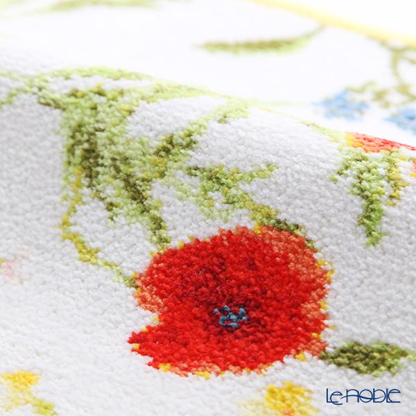 Feiler 'Flower Meadow' Yellow Hand Towel 25x25cm
