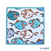 Feiler 'Piranha (Fish)' Capri Blue Hand Towel 25x25cm