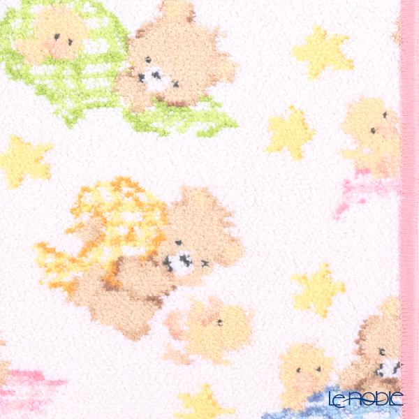 Feiler 'Ben & Fine' Candy Pink Hand Towel 25x25cm