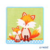 Feiler 'Phipps (Fox / Animal)' Aqua Blue Hand Towel 25x25cm