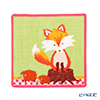 Feiler 'Phipps (Fox / Animal)' Pink Hand Towel 25x25cm
