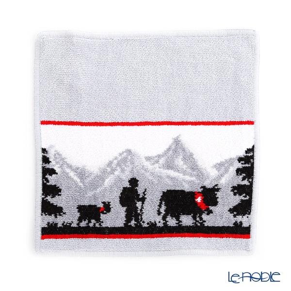 Feiler Hand Towel (Handkerchief) Switzerland 25x25cm