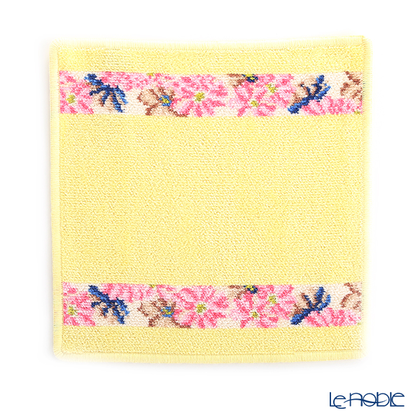 Feiler Hand Towel (Handkerchief) Cosmos Beige 25x25cm Lemon