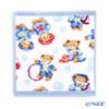 Feiler Baby 'Little Skippers' Light Blue Hand Towel 25x25cm