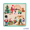 Feiler 'Nutcracker (Christmas)' Green Hand Towel 25x25cm