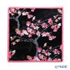 フェイラー ハンドタオル(ハンカチ)桜(ヤマカワ) ブラック 25×25cm