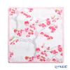フェイラー ハンドタオル(ハンカチ)桜(ヤマカワ) ホワイト 25×25cm