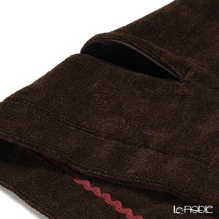 Feiler 'Winter Magic' Brown Cushion Cover 47x47cm