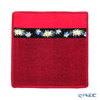 Feiler 'Liesl (Flower)' Red Hand Towel 25x25cm
