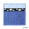 Feiler 'Liesl (Flower)' Blue Hand Towel 25x25cm