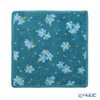 Feiler 'Sweet Memory - Forget Me Not (Flower)' Capri Blue Hand Towel 25x25cm