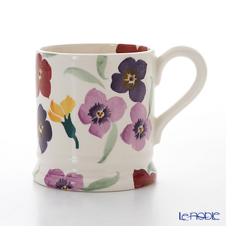 Emma Bridgewater Wallflower 1/2 Pint Mug 340 cc