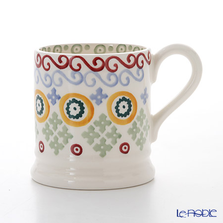Emma Bridgewater Folk Border 1/2 Pint Mug 340 cc
