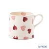Emma Bridgewater / Earthenware 'Pink Hearts' Small Mug 175ml
