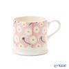 Emma Bridgewater / Earthenware 'Pink Daisy (Flower)' Small Mug 175ml