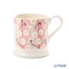 Emma Bridgewater / Earthenware 'Pink Daisy (Flower)' Mug 340ml