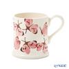 Emma Bridgewater / Earthenware 'Pink Cabbage White Butterfly' Mug 340ml
