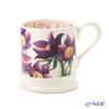 Emma Bridgewater / Earthenware 'Flowers - Pasque Flower' Mug 340ml