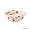 Emma Bridgewater / Earthenware 'Pink Hearts' Cereal Bowl 16.5cm