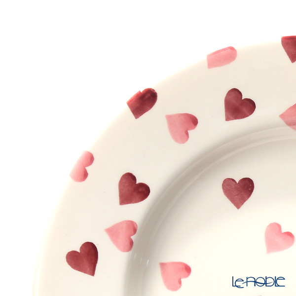 Emma Bridgewater / Earthenware 'Pink Hearts' Plate 27cm
