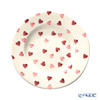 Emma Bridges Water Pink Hearts Plate 27cm