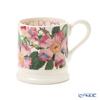 Emma Bridgewater / Earthenware 'Flowers - Dog Rose' Pink Mug 340ml