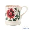 Emma Bridgewater / Earthenware 'Flowers - Red Rose' Mug 340ml