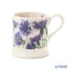 Emma Bridgewater / Earthenware 'Flowers - Cornflower' Blue Mug 340ml