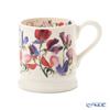 Emma Bridgewater / Earthenware 'Flowers - Sweet Pea' Mug 340ml