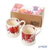 Emma Bridgewater / Earthenware 'Flowers - Tulip' Mug 340ml (set of 2 patterns with gift box)
